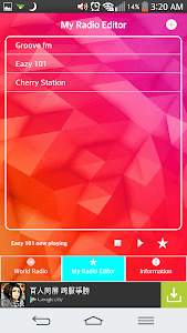Radio Editor screenshot 1