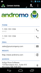 Andromo Sample screenshot 6
