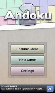Andoku Sudoku 2 Free screenshot 05