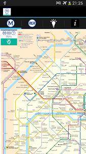 Metro Map Paris - Map and Tips screenshot 1