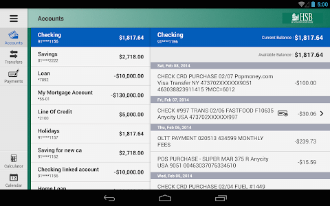 Huntington State Bank Tablet screenshot 7