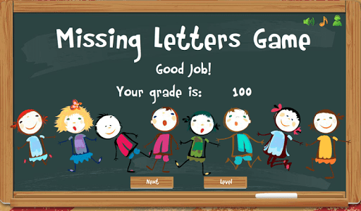 Missing Letters Spelling Kids screenshot 6