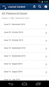 Journal of Material Science screenshot 1