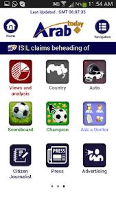 Arab Today mini screenshot 3
