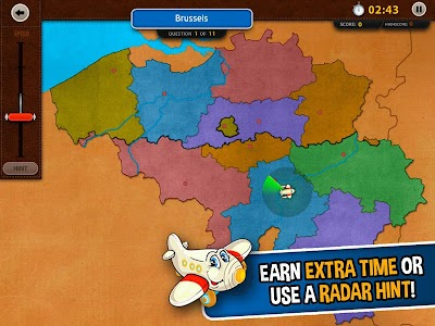 GeoFlight Belgium: Geography screenshot 7
