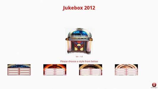 Jukebox 2012 Free Edition screenshot 0