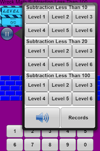 Wreck Math: Subtraction screenshot 0