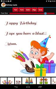 Birthday Cards screenshot 10