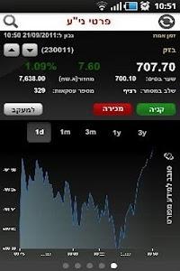 בנק הפועלים - מסחר בשוק ההון screenshot 3