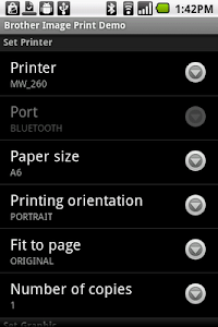 Brother Print Library screenshot 0
