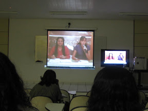 Cenidalva Teixeira e Akemi Wada, por videoconferência