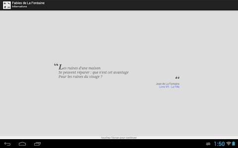 La Fontaine Audio - Sélection screenshot 5