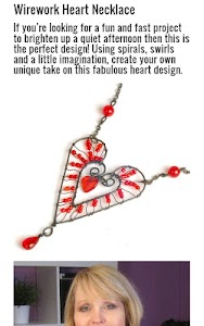 Wire Heart Necklace screenshot 2