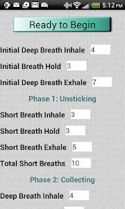 Autogenic Drainage screenshot 2