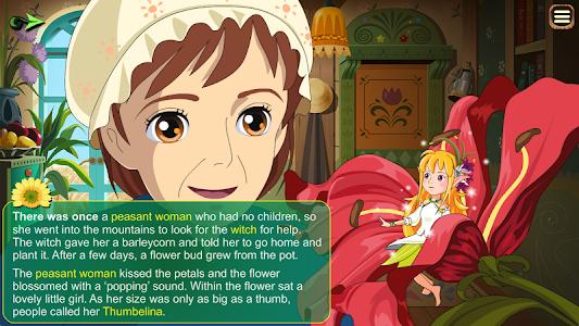 Thumbelina Kids StoryBook screenshot 4