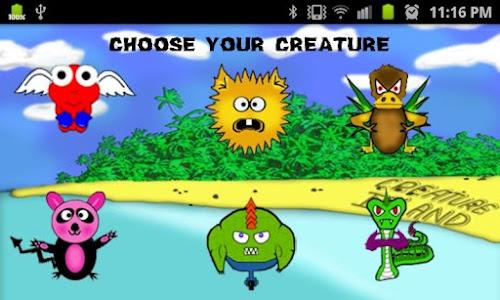 Creature Island screenshot 1