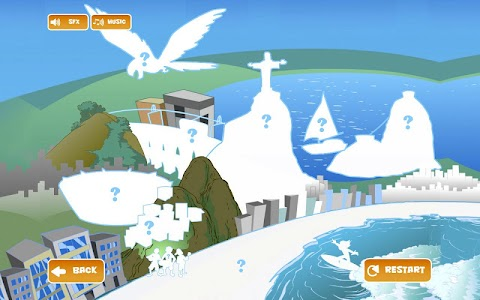 Rio Shape-Puzzle screenshot 2