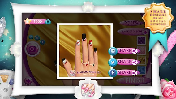 Fashion Nails 3D Girls Game screenshot 04