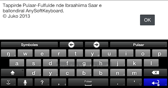 Fulah Language Pack screenshot 1