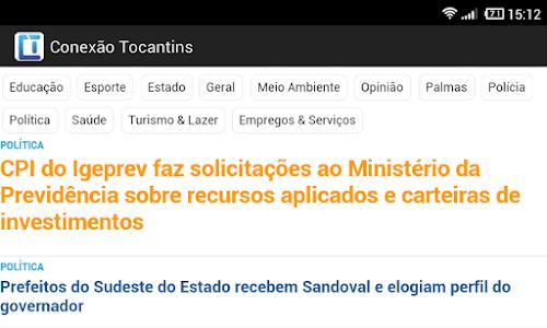 Conexão Tocantins screenshot 2