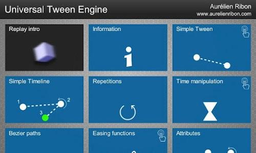 Universal Tween Engine screenshot 1
