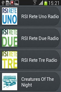 Radio Svizzera screenshot 2