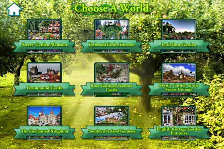 Hidden Objects Secret Gardens! screenshot 3
