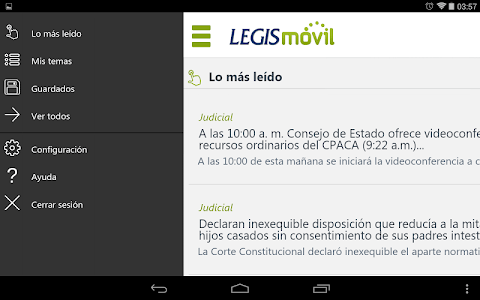 LegisMovil screenshot 5