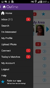 OurTime Dating for Singles 50+ screenshot 2