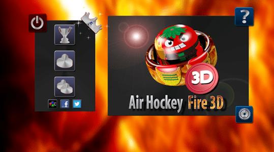 Air Hockey Fire 3D screenshot 7