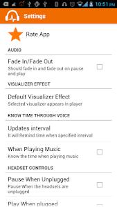 Sensitive Music Player Pro screenshot 4