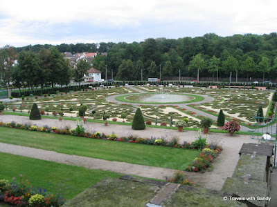 Some Of The Gardens At Ludwigsburg Palace