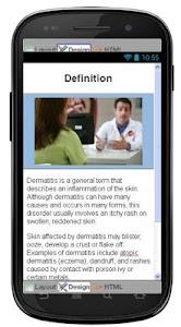 Dermatitis Eczema Information screenshot 1