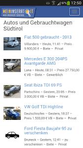 Gebrauchtautos Südtirol screenshot 0