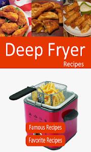 Deep Fryer Recipes screenshot 0