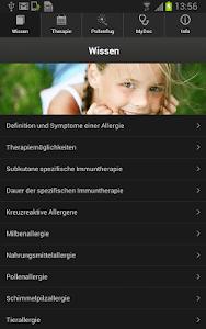 Allergohelp Deutschland screenshot 0