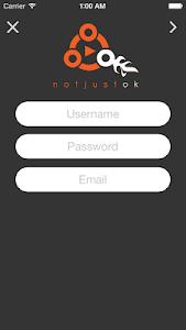 Notjustok screenshot 3
