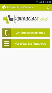 Farmacias de Cáceres screenshot 0