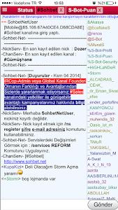 Sohbet.Net Chat Sohbet Odaları screenshot 3