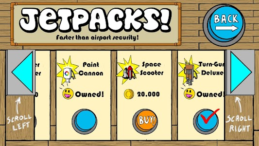 Dr. Gentleman's Jetpack Run screenshot 5