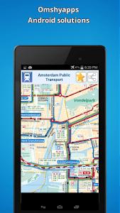 Amsterdam public transport map screenshot 4