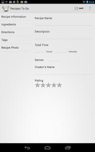 Recipes to Go screenshot 12