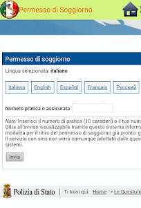 Permesso di Soggiorno screenshot 1