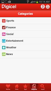 Digicel DigiINFO screenshot 3