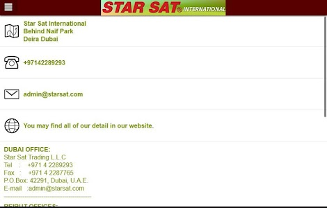 StarSat International screenshot 12