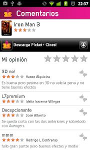 Picket - Cartelera de Cines screenshot 3