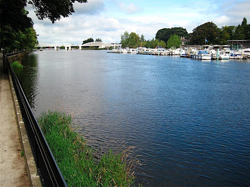 El Shannon pasa por Athlone