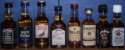 Whiskey miniatures