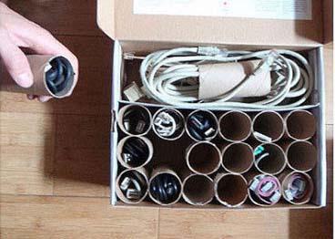 Cómo ordenar cables.