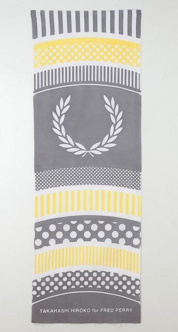 #藝術家高橋理子嶄新水玉線條呈現:FRED PERRY日本傳統手工拭巾 9
